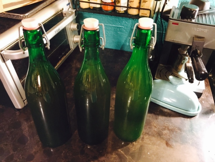 Freshly bottled ginger ale --- can I wait two weeks?!